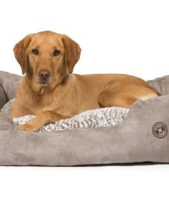 Luxury bolster dog beds