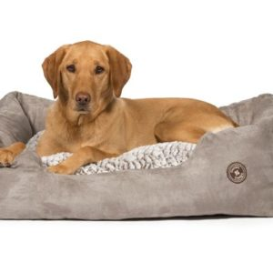 Arctic Snuggle Bed with Dog_preview