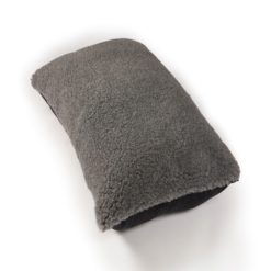 Luxury grey cosy dog pillow