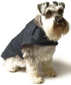 Navy Waxed Waterproof Coat