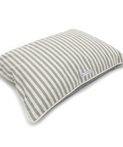 grey flint striped pillow dog bed