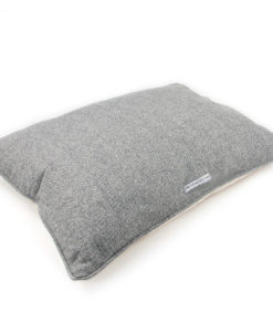 Stoneham tweed pillow dog bed