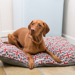 Union Jack Pillow Dog bed