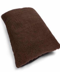 Luxury brown cosy dog pillow