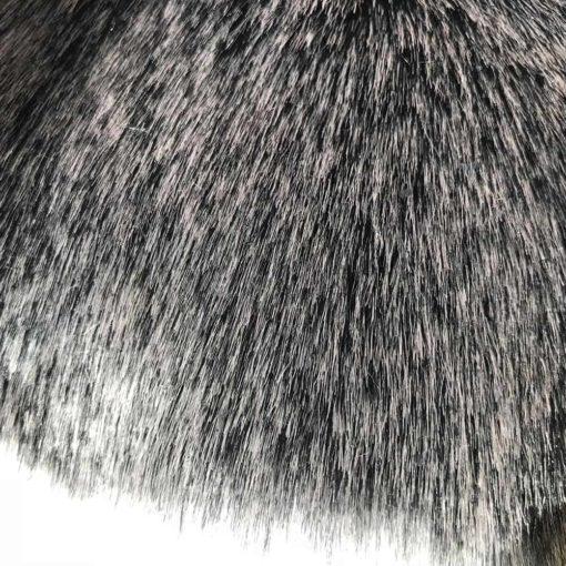 Artic Wolf Faux Fur Dog Blanket. Luxury dog blankets