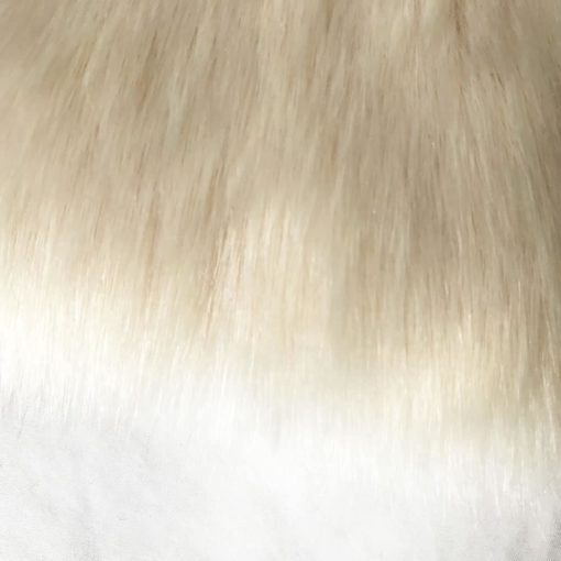 Buttermilk Cream Faux Fur Throw