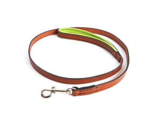Padded Luxury Leather Dog Lead