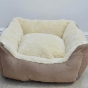 100% Merino Wool Luxury Dog Bed