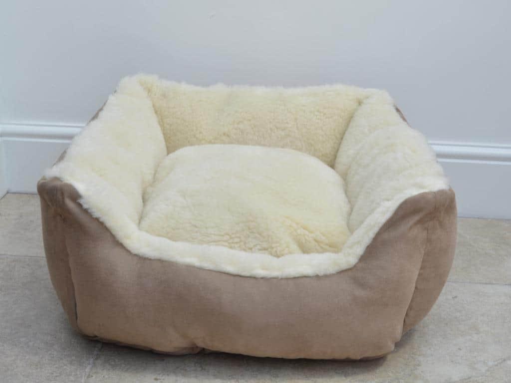 100% Merino Wool Luxury Dog Bed