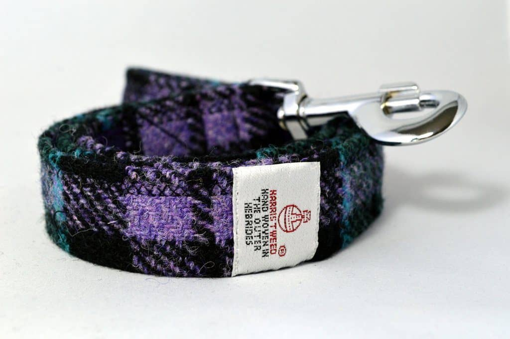 Clan Campbell Tweed Dog Lead