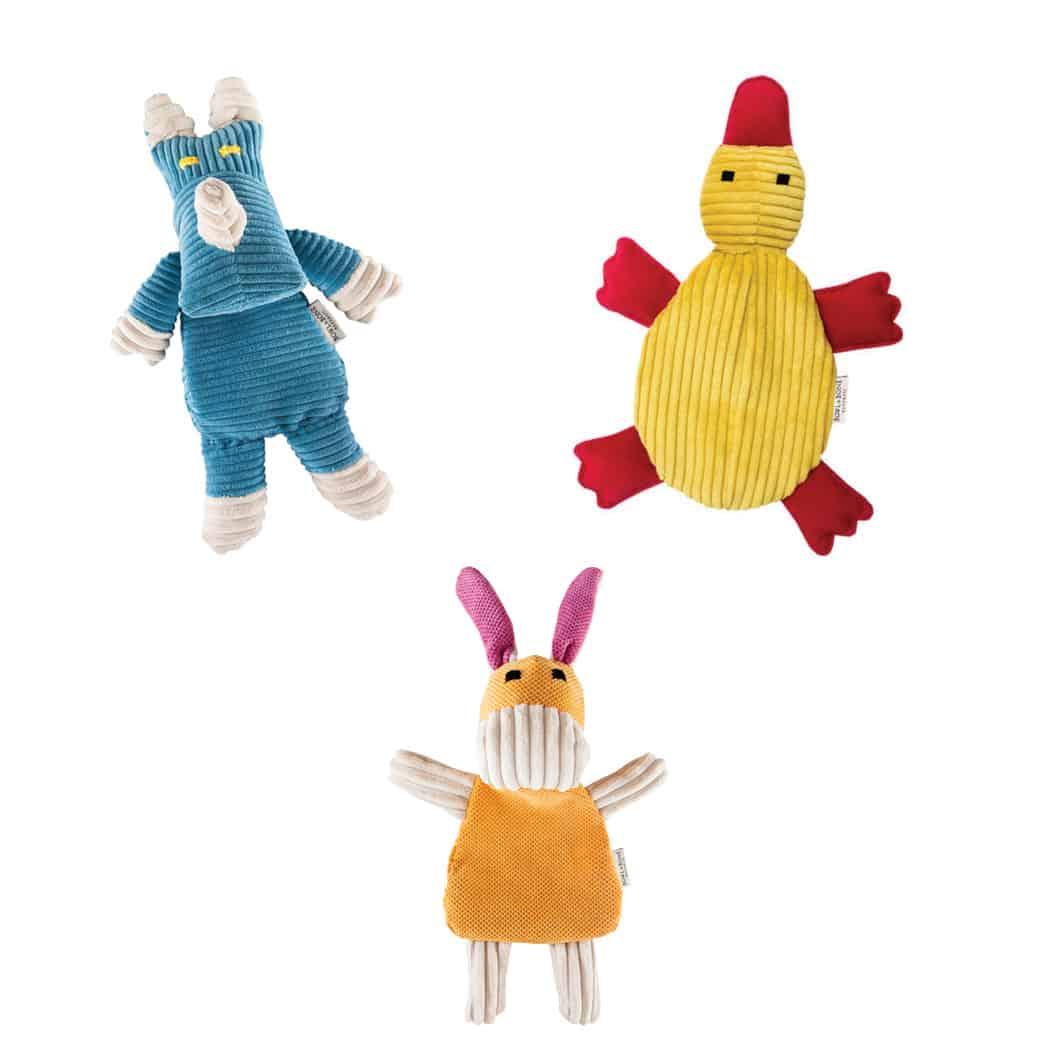 Three dog toy Christmas pack