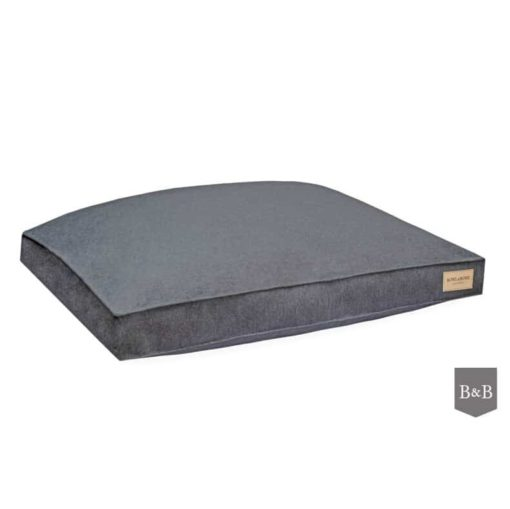 Graphite grey bLoft box dog cushions