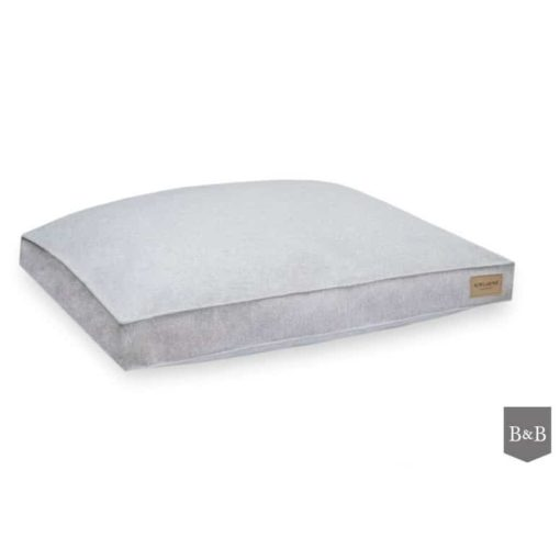 Light grey bLoft box dog cushions
