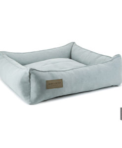 Urban grey bolster dog bed