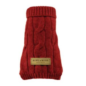Dog jumper ASPEN red