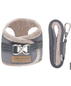 Grey yeti harness for your dog