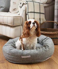 Stoneham Tweed Donut Bed