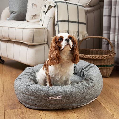Stoneham Tweed Donut Bed
