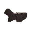 Black Duffle Dog Coat_