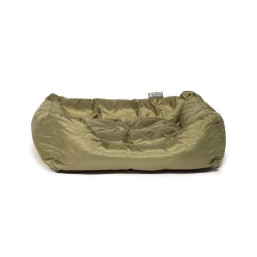 Quilted Green Snuggle Bolster Bed