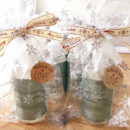 Dog shampoo Christmas wrapped gift