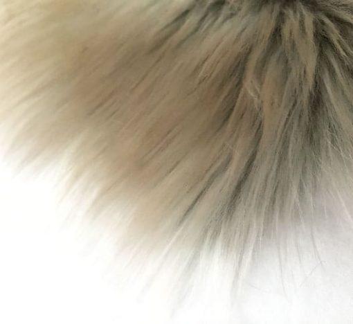 Snow Wolf Faux Fur Throw