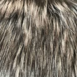 Timber Grey Wolf Faux Fur Throw. Luxury dog blankets