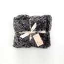 Black Frost Shaggy Blanket