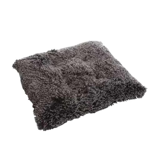 Frosted black Fluffy dog pad - Pooch pad