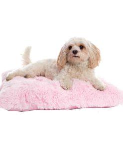 Pink Fluffy dog pad - Pooch pad
