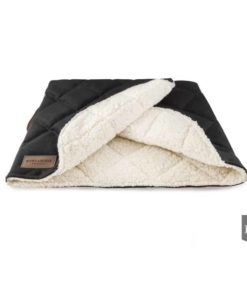 Bowl and Bone Luxury Black Dog Sleeping Bag
