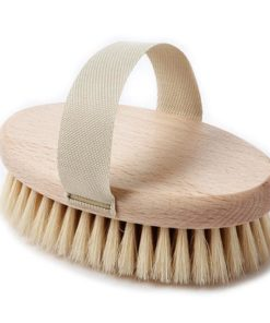 Wooden Palm dog brush