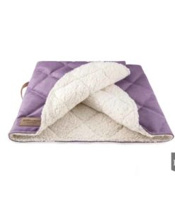 Bowl and Bone Luxury Lavender Dog Sleeping Bag