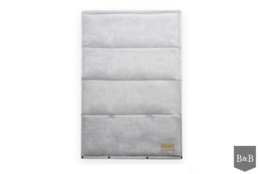 Portable light grey LOFT dog mat