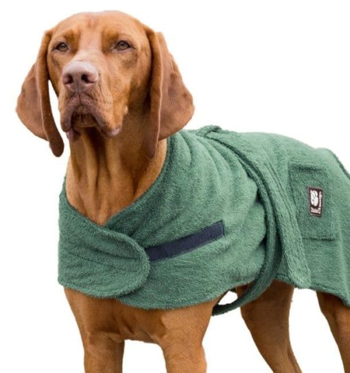 Dog drying robe
