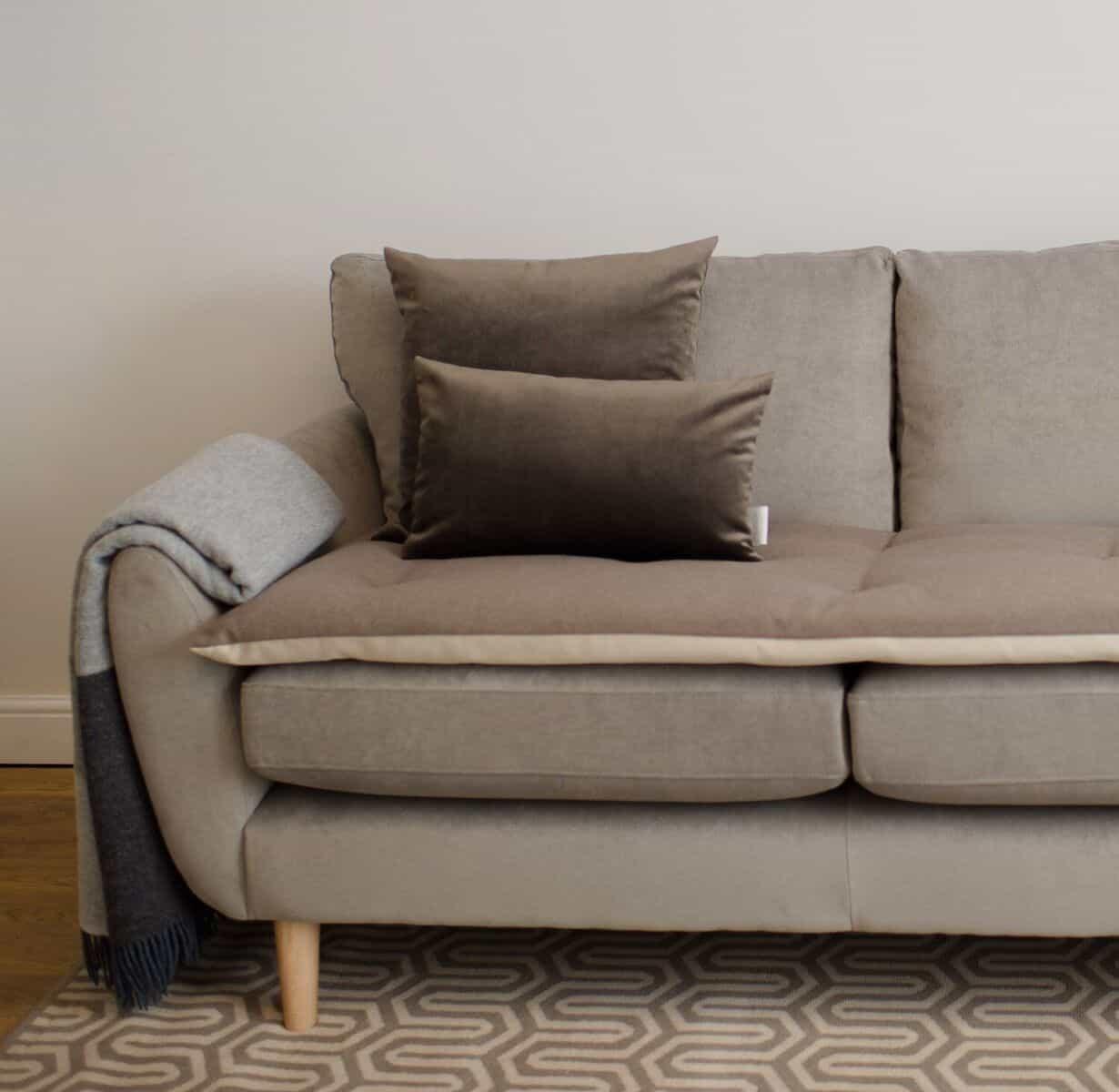 Classic Earth Wool Sofa Topper