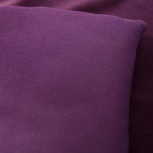 Purple Velvet Luxury Sofa Topper