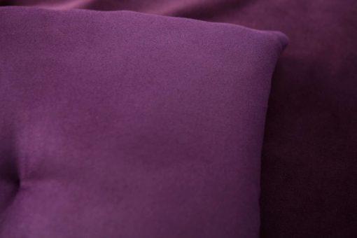 Purple Velvet Luxury Sofa Topper