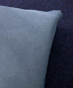 avy blue wool sofa topper
