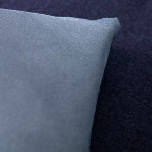 avy blue wool sofa topper