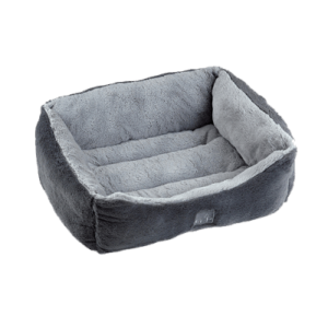 Grey dream snuggle dog bed