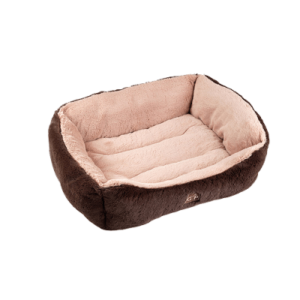 Brown dream snuggle dog bed