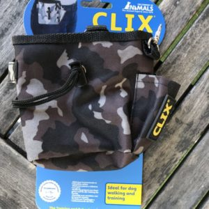 Clix Combat treat bag with clips for whistle and attachment