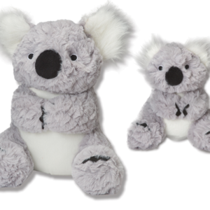 Koala dog toy with squeaker