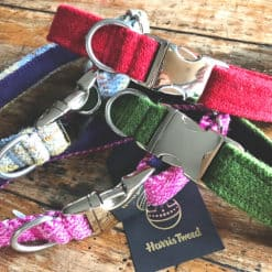 Luxury Tweed dog collars