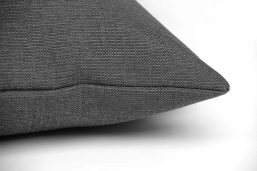 Slate grey twist dog cushion bed