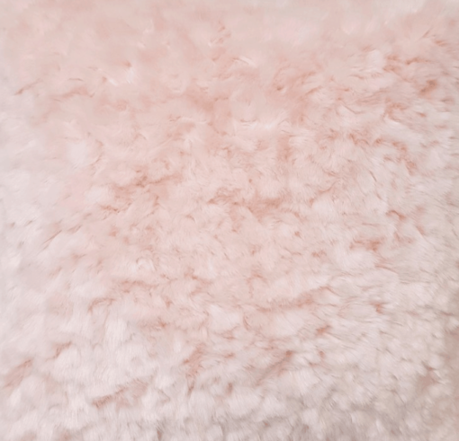Pink Ripple Faux Fur Dog Blanket Throw