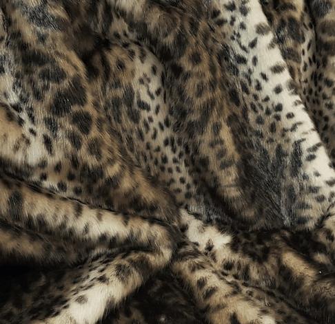 New Ocelot faux Fur Blanket