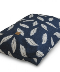 Retreat Navy Dog Pillow Danish Design. Luxury dog beds.