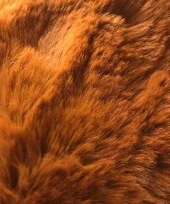 Autumn Brown Faux Fur Dog Blanket